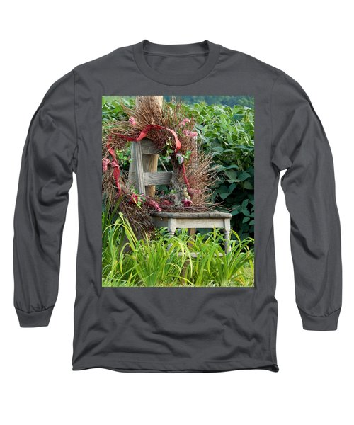 Recycled Welcome Long Sleeve T-Shirt