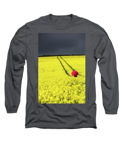 Red And Yellow And....... Long Sleeve T-Shirt