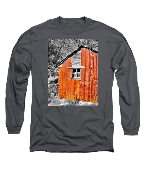 Red Armor Long Sleeve T-Shirt