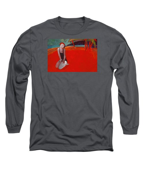 Red Beach Two Long Sleeve T-Shirt