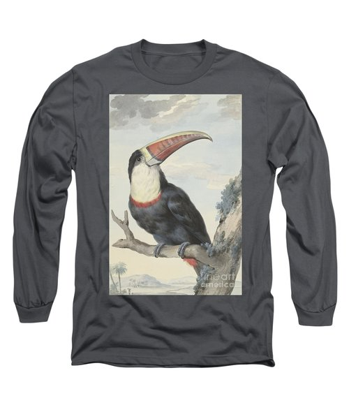 Red Billed Toucan, 1748  Long Sleeve T-Shirt