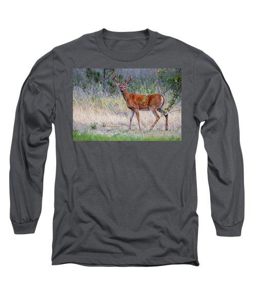 Red Bucks 1 Long Sleeve T-Shirt