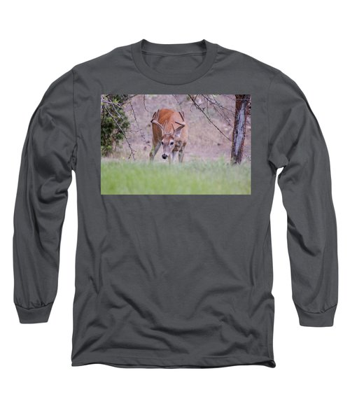 Long Sleeve T-Shirt featuring the photograph Red Bucks 6 by Antonio Romero