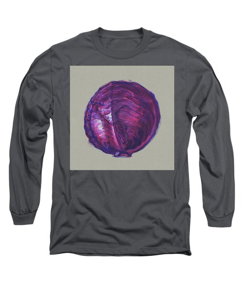 Red Cabbage Long Sleeve T-Shirt