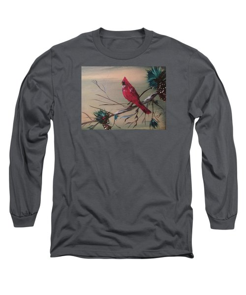 Red Drifter Long Sleeve T-Shirt