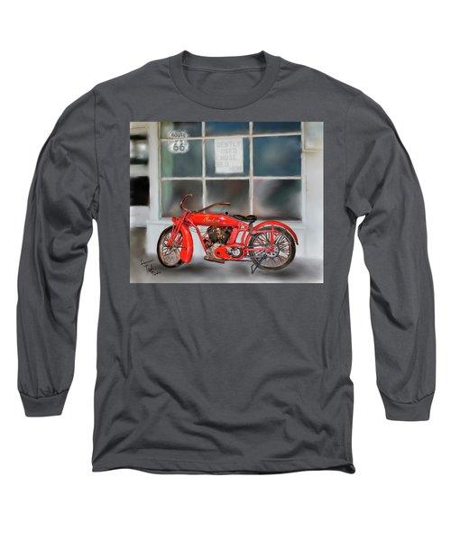 Red Hot Tail Gunner Long Sleeve T-Shirt