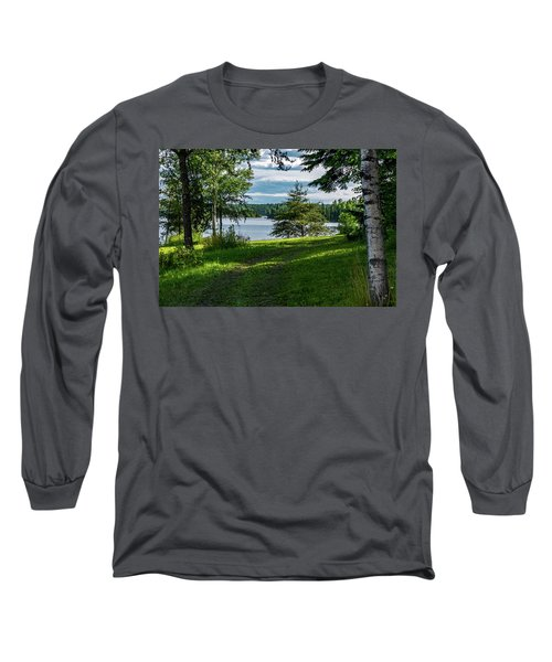 Red Lake Ontario 2 Long Sleeve T-Shirt