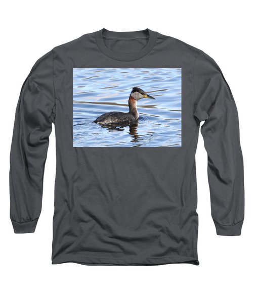 Red-necked Grebe Long Sleeve T-Shirt