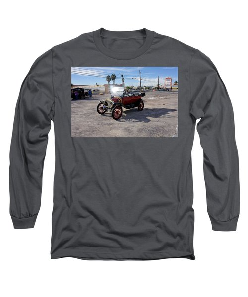 Red Roadster Long Sleeve T-Shirt