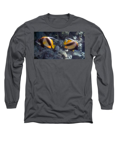 Red Sea Bannerfish 2 Long Sleeve T-Shirt