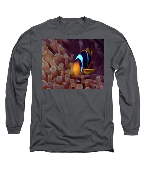 Red Sea Clownfish, Eilat, Israel 9 Long Sleeve T-Shirt