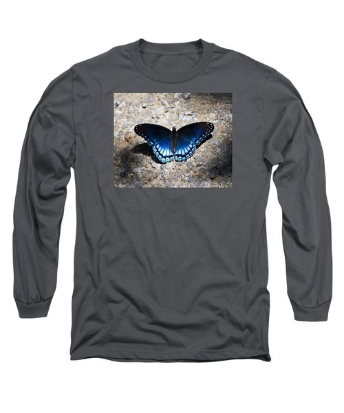 Red-spotted Purple Butterfly Long Sleeve T-Shirt