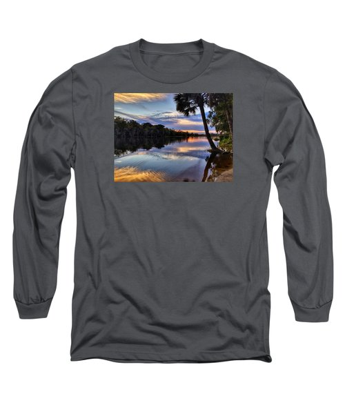 Red Tranquility  Long Sleeve T-Shirt
