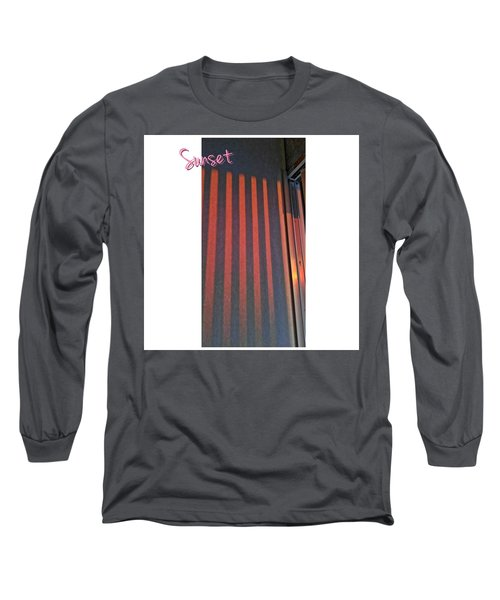 Red Wall Long Sleeve T-Shirt