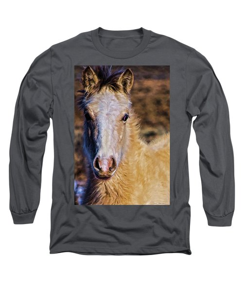 Red Willow Pony Long Sleeve T-Shirt