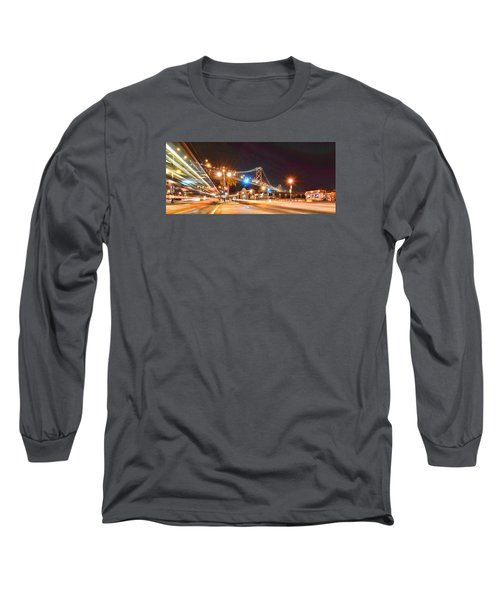Long Sleeve T-Shirt featuring the photograph Red's Java House by Steve Siri