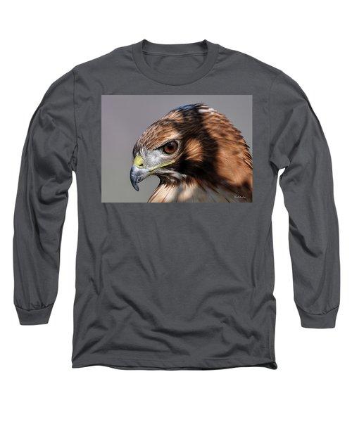 Redtail Hawk Long Sleeve T-Shirt