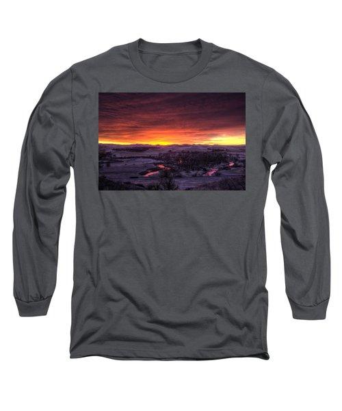 Redwater Long Sleeve T-Shirt by Fiskr Larsen