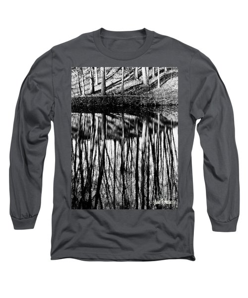 Reflected Landscape Patterns Long Sleeve T-Shirt