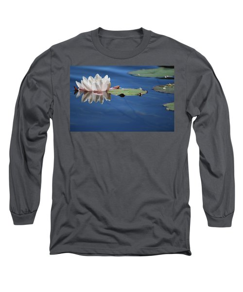 Reflecting In Blue Water Long Sleeve T-Shirt