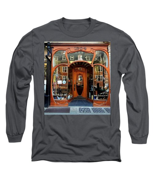 Reflecting On A Cambridge Shoe Shine Long Sleeve T-Shirt