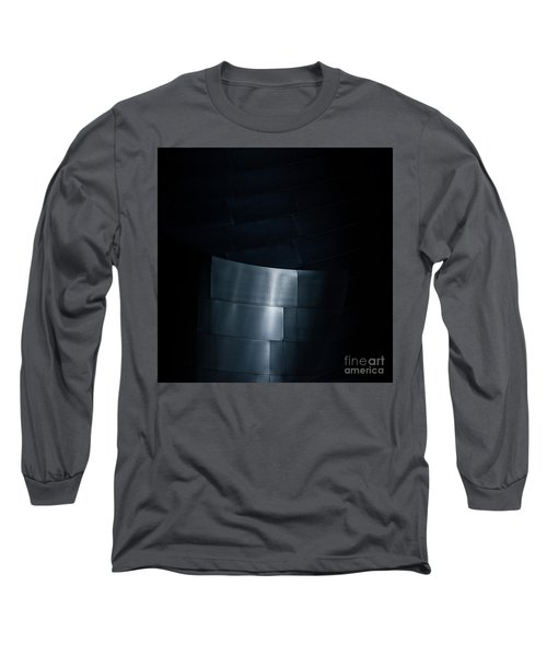 Reflecting On Gehry Long Sleeve T-Shirt