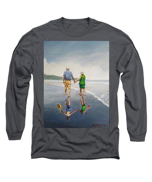 Reflecting Happiness Long Sleeve T-Shirt