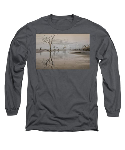Reflection Of A Dead Tree Long Sleeve T-Shirt
