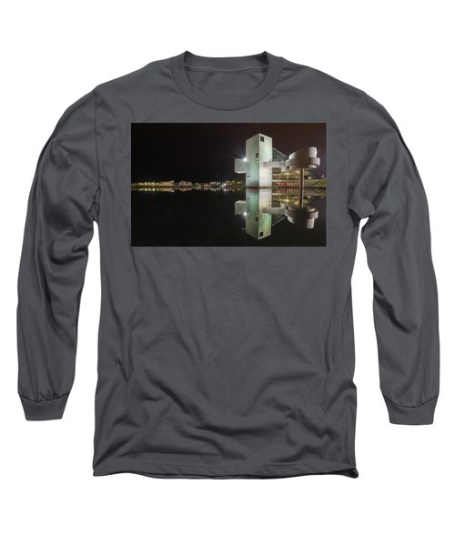 Reflection Of Rock And Roll In Cleveland Long Sleeve T-Shirt