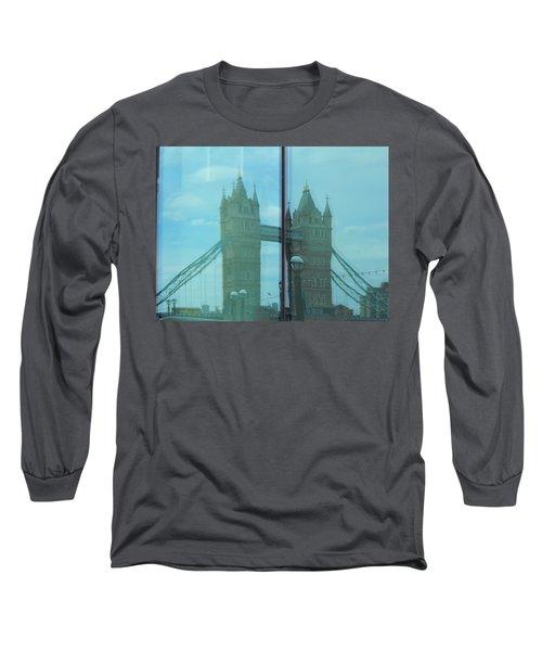 Reflection Tower Bridge Long Sleeve T-Shirt