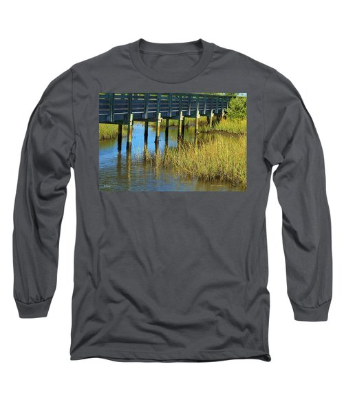 Reflections And Sea Grass Long Sleeve T-Shirt