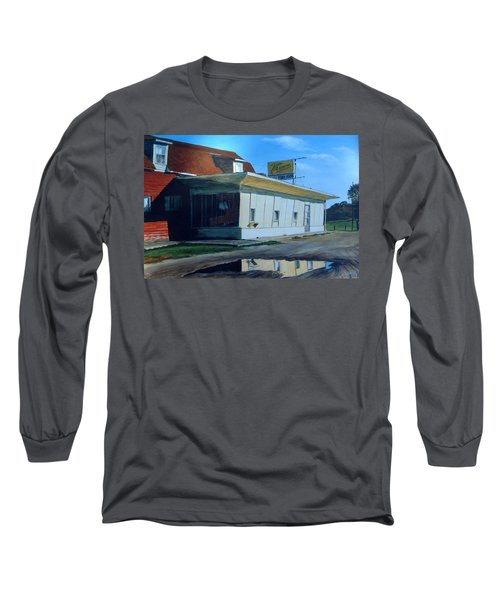 Reflections Of A Diner Long Sleeve T-Shirt