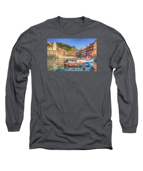 Long Sleeve T-Shirt featuring the photograph Reflections Of Italy by Brent Durken