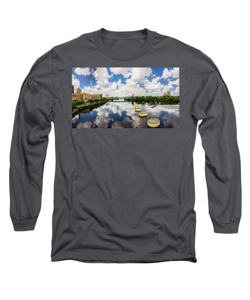Reflections Of Minneapolis Long Sleeve T-Shirt