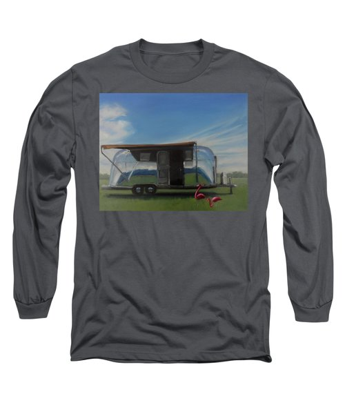 Reflections Of The Airstream Factory Long Sleeve T-Shirt
