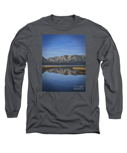 Long Sleeve T-Shirt featuring the photograph Reflections Of The Morning by Mitch Shindelbower