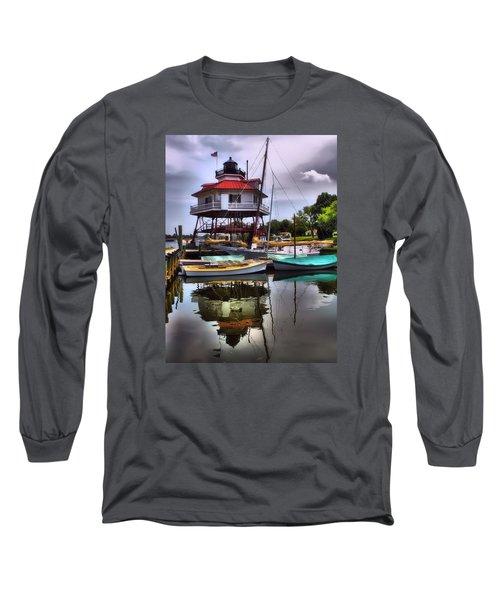 Reflections On Golden Creek Long Sleeve T-Shirt