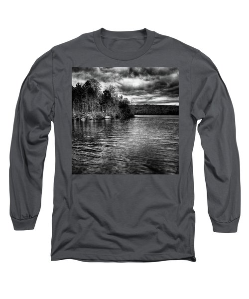 Reflections On Limekiln Lake Long Sleeve T-Shirt by David Patterson