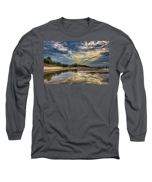 Reflections On The Beach Long Sleeve T-Shirt