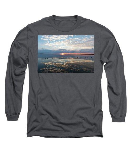 Reflections Over Back Bay Long Sleeve T-Shirt