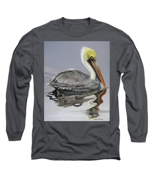 Reflective Perspective Long Sleeve T-Shirt