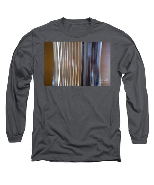 Refraction In Glass Long Sleeve T-Shirt