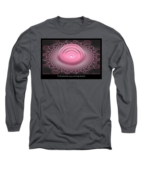 Refresh The Weary Long Sleeve T-Shirt