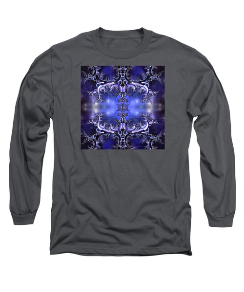 Regal Composition Long Sleeve T-Shirt by Mario Carini