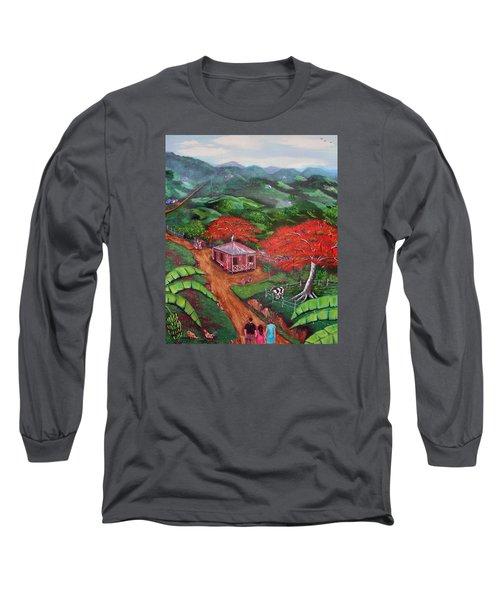 Regreso Al Campo Long Sleeve T-Shirt