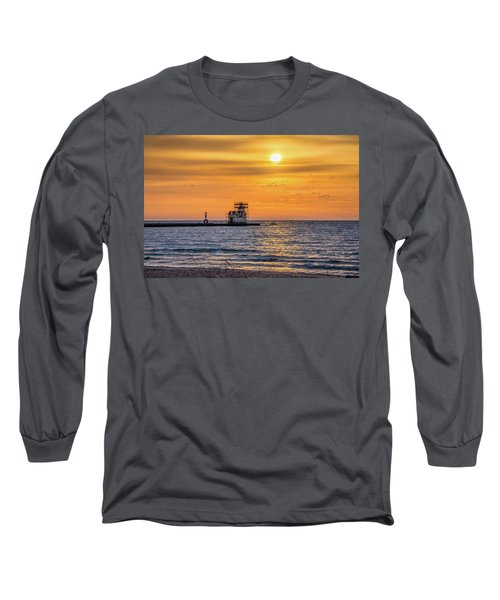 Long Sleeve T-Shirt featuring the photograph Rehabilitation Rising by Bill Pevlor