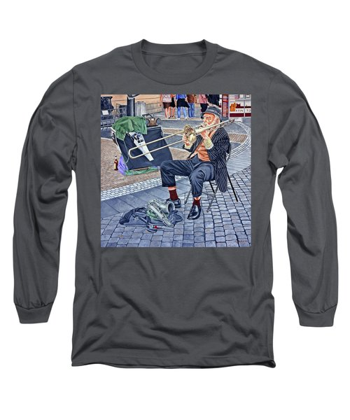Rehearsal In Prague Long Sleeve T-Shirt