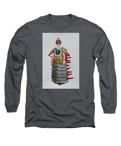 Reilly In Frank The Amazing Bugatron 2000 Long Sleeve T-Shirt