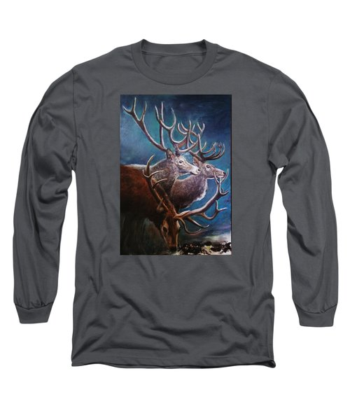 Reindeers Long Sleeve T-Shirt