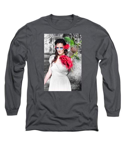 Long Sleeve T-Shirt featuring the photograph Relationship Problems by Jorgo Photography - Wall Art Gallery